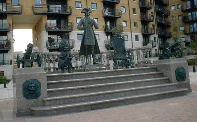 Before he became Russian Czar, Peter the Great studied shipbuilding in Deptford, London