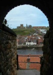 This view of Whitby feels to me like looking through a keyhole
