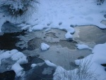 such a pleasing variety of shapes in this icy stream - foothills of Boulsworth