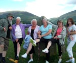 No not the Rolling Stones but the Castlerigg Stone circle - I had a couple of fun filled days up in the lake District with Brendon & Janet, fasmily and friends - the ancient stones of Castlerigg seemed to have the power to turn all daft