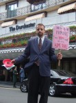 as last year our target, the Dorchester, turned out to be wrong - the dinner had been moved