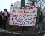 I loved this banner - excellent - nothing like a bit of humour to get the message across