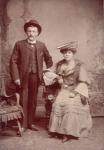 George Ambrose St Pierre b. 1870 & Emily Mary Jane nee Clarke b. 1886 my dad's parents