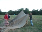 erecting a marquee 1