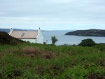 from the road, my view of Acheninver Youth Hostel, previously visited in 1963 and again in 1965