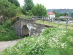 a bridge at Fort Augustus that used to carry the railway line