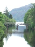 the trestle bridge at Fort Augustus