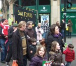 a Salford banner