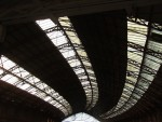 then a train from Swindon to this splendid curved roof