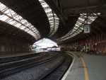 the splendid Bristol Temple Meads station.  From here I got another train to Swansea to continue cycling on
