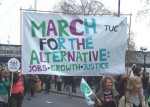 the main banner for the March