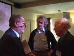 Brian Simpson MEP, Colin Eliff from Railfuture &amp; SELRAP's David Mawdsley
