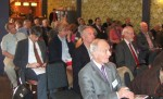 some of the audience at the Herriots Hotel in Skipton