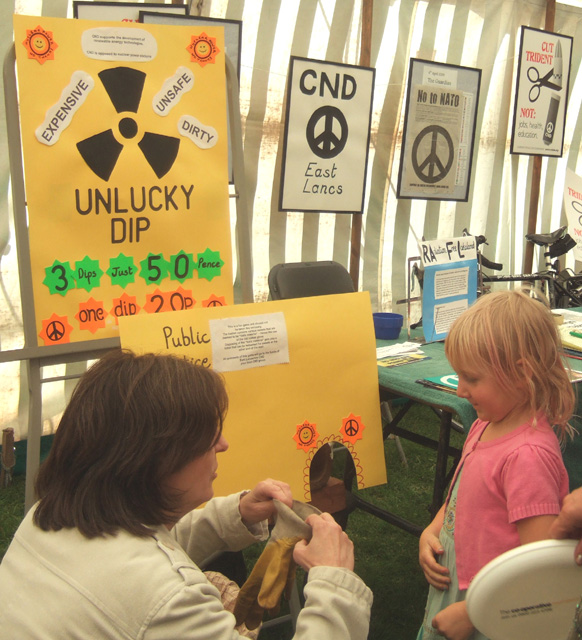 the highlight of the stall, at least for children, was the 'Unlucky Dip'