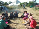a set up meeting discussing what jobs needed doing.