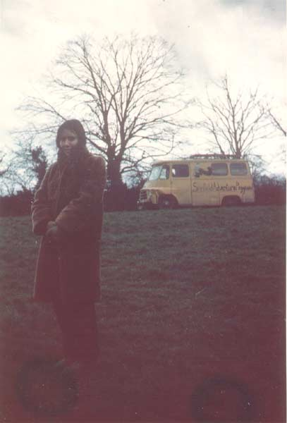 chris and the adventure playground van on an outing to henley