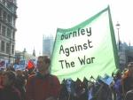 Burnley against the war