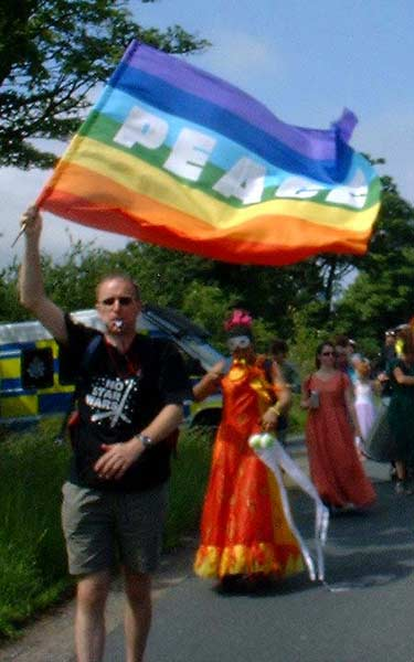 I love the rainbow peace flag