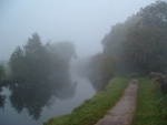 now some more photos of the Pennine Cycleway NCN68 taken on other occasions - first an atmospheric canal photo