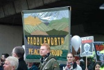 saddleworth peace group banner