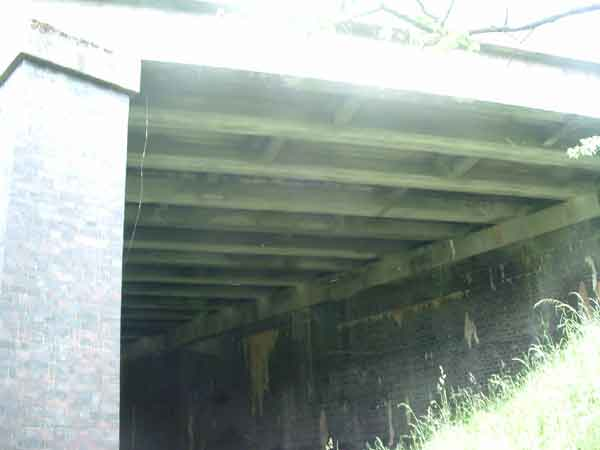 3. west side of Kelbrook Road bridge