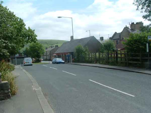 99. looking east on Salterforth Road