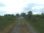 15. looking west along the trackbed from between the house and the farm