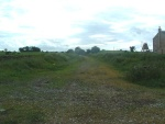 16. looking west along the trackbed from the gate