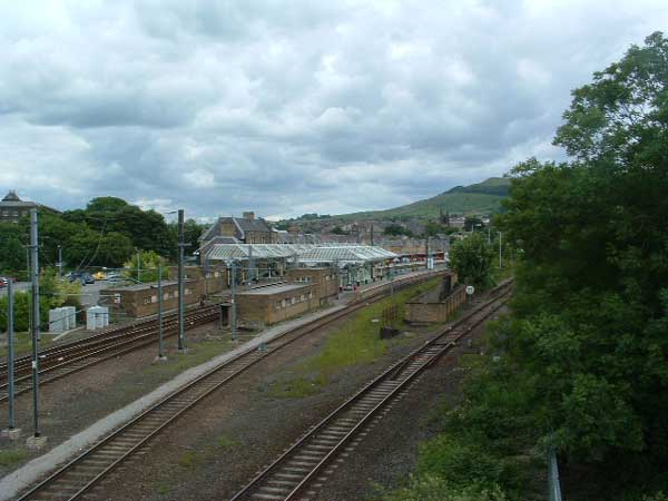 80. looking east at Skipton Station