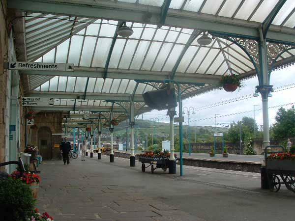 81. platforms at Skipton Station