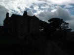 farmhouse sillouette
