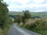 Then a 30mph ride down Emmott Lane to Laneshaw Bridge village where the main Colne-Keighley road is crossed