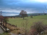 at Sough Bridge I get this view of the old Barnoldswick branch line curving off