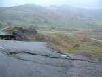 more of the jagged edge left by the landslides - these happen during downpours so not a route to be recommended in very wet weather unless you're looking for a quick way down!