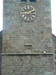 another view of the 'eye of God'. It's on a church tower, but where is the church?