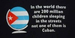 this one I got from Blackpool & Fylde Cuba Solidarity Campaign - it certainly makes you stop & think - for more on this group click here