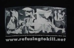 Anothe Picasso image - Guernica - used on a Payday t-shirt