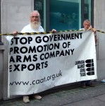 DESO supports exports to countries with poor human rights such as Libya, Saudi Arabia and Indonesia (remember those hawk jets used for genocide in East Timor?)