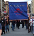 Burnley's annual Mayday Parade and Festival was joined this year by newly formed East Lancs CND 