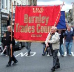 Burnley Trades Council banner