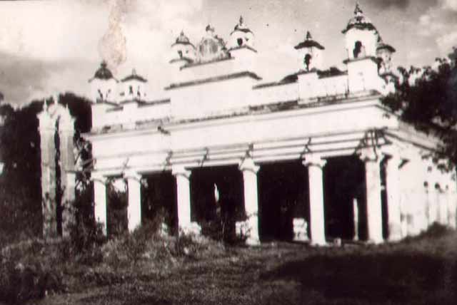 Maharajah or Manipur Palace in India, near the Burmese border