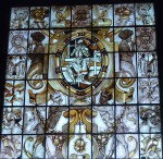 most, but not all, of the windows had a theme - here: 'Constance'