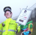 have a close look at the Strathclyde police slogan - how does that place behind make us safer?