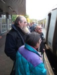 More travellers got on at Nelson, Burnley, Accrington and Blackburn - these were boarding at Burnley