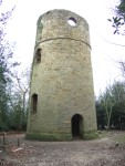 in splendid folly tradition, though he advertised well, Fuller could not find a hermit to occupy his tower