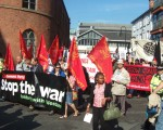 the communists arriving at Castlefields