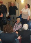 in the training there is time to role play various scenarios involving quick decision making