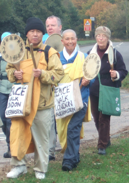 including the peace walkers