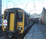 first stop Keighley where more passengers got on