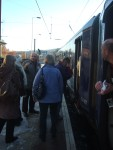 while others boarded at Shipley